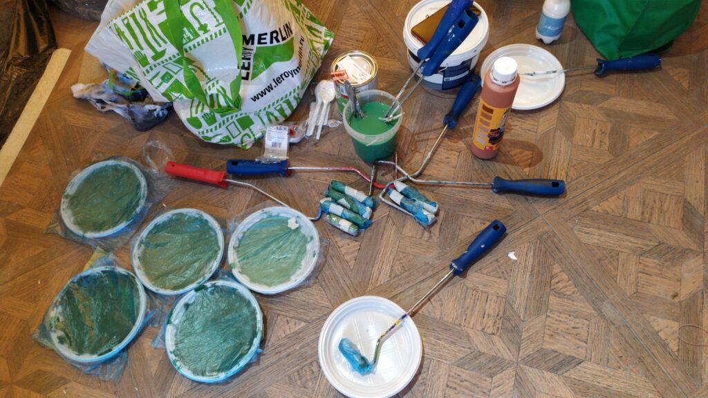 материалы для росписи стен