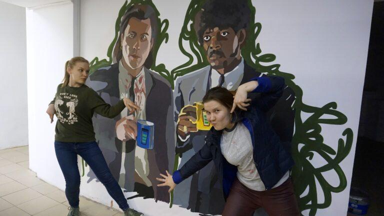 Роспись стен в кофейне Coffеe Like