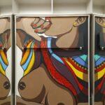 Рисунки на стене в  квартире, детской и интерьере.