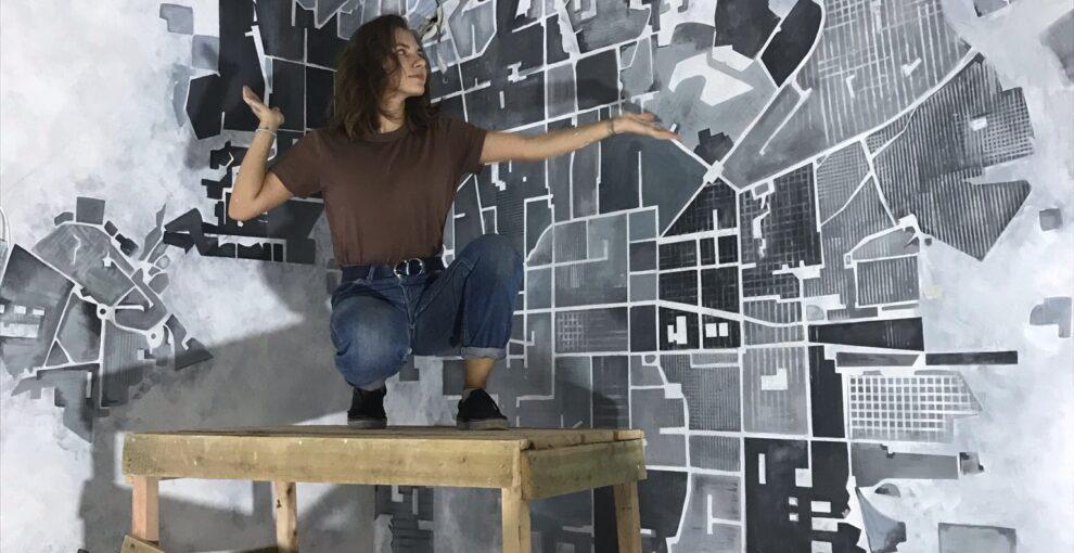 Роспись стен в интерьере. Фото и стили