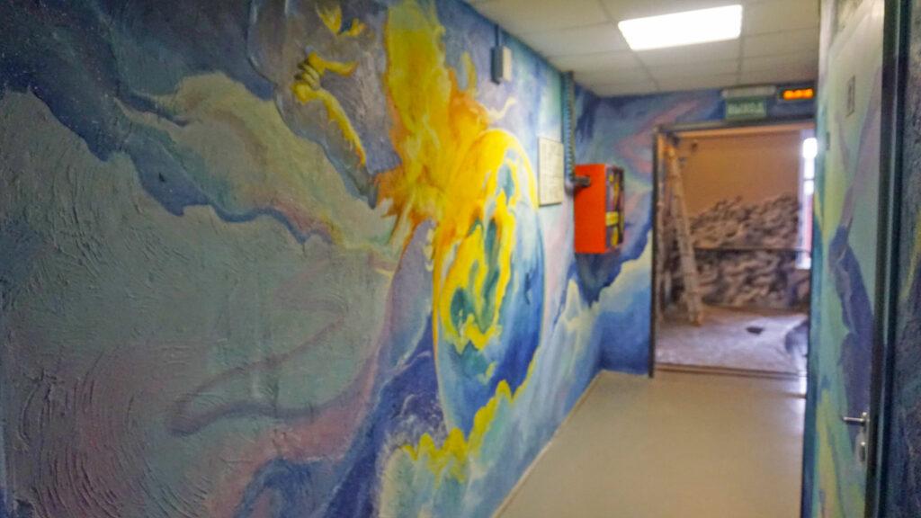 окраска стен в коридоре
