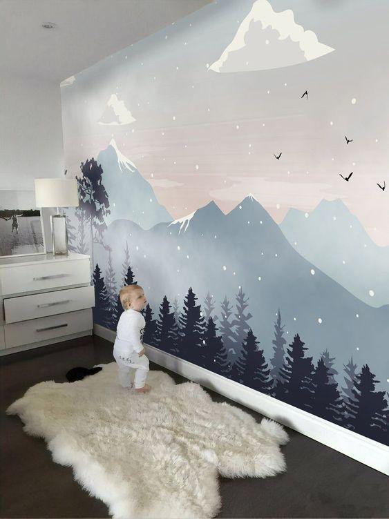 горы в детской