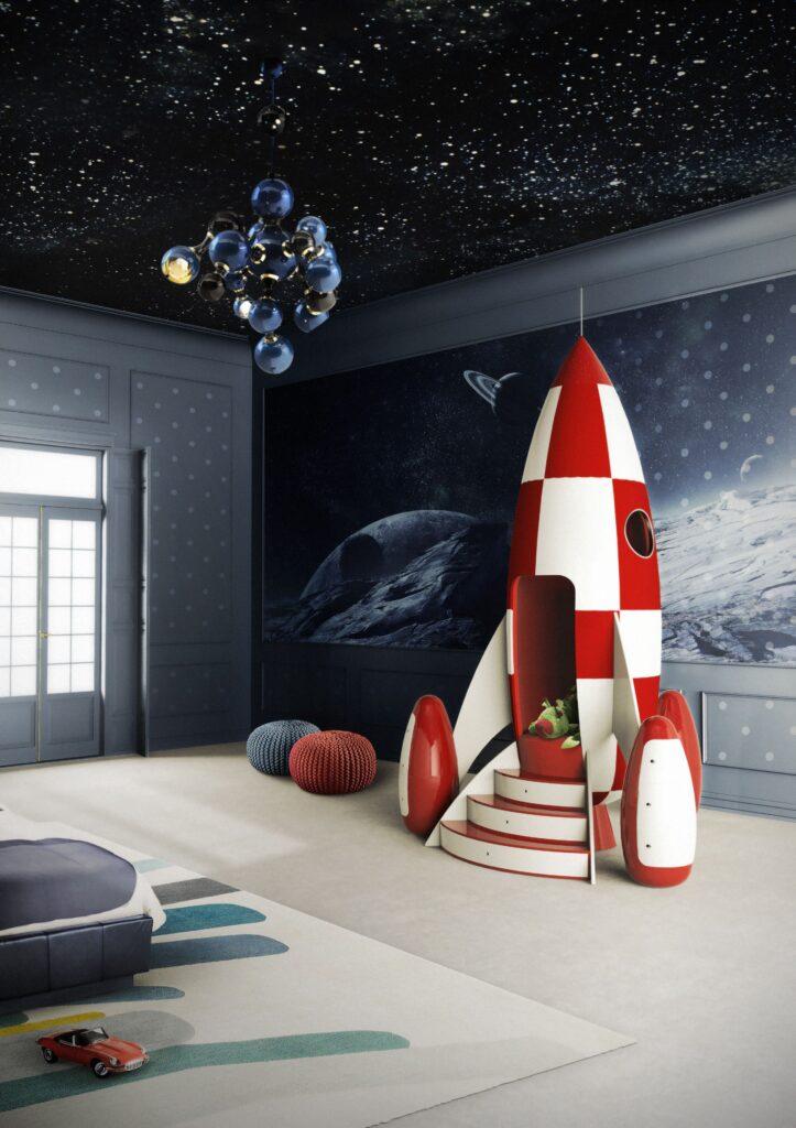 небо в детской комнате