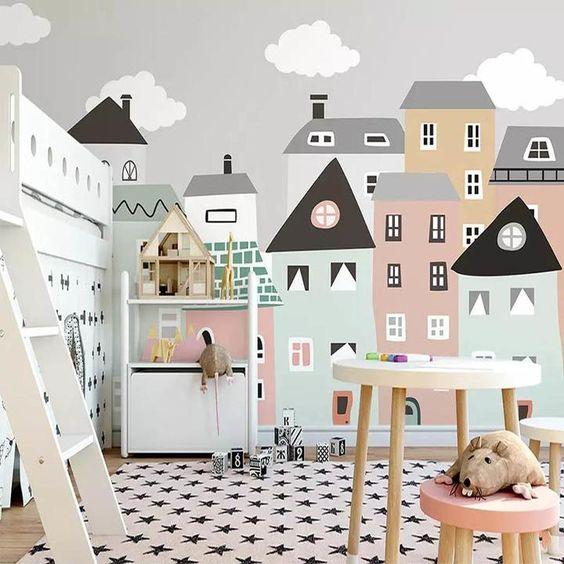 домики в детском садике