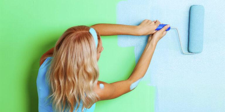Покраска стен и обоев в Санкт-Петербурге по цене от 190 руб за м2