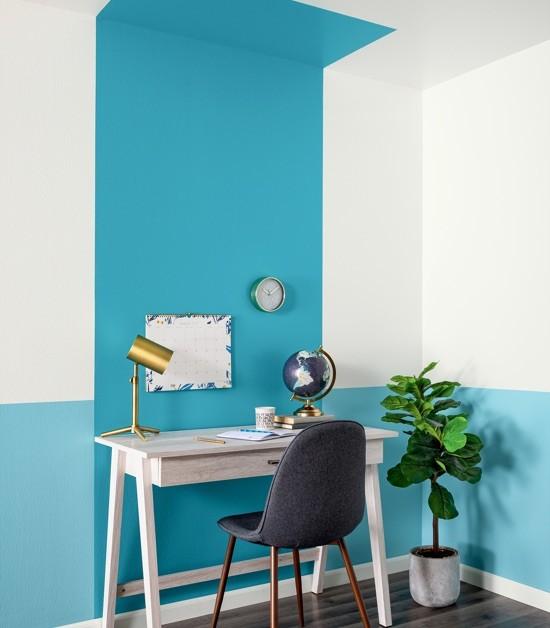 кабинет покрашенный краской