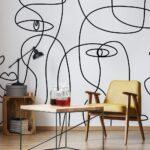 Рисунки на стене в квартире - Заказать
