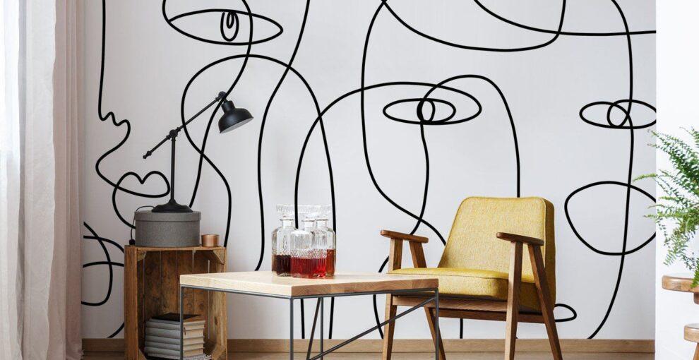 Рисунки на стене в квартире – Заказать
