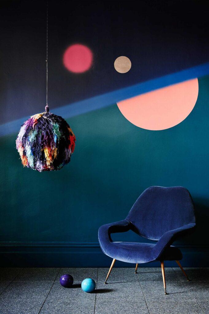 космос и круги в квартире