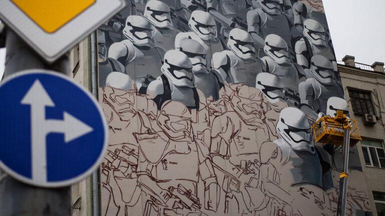 Роспись фасада на заказ