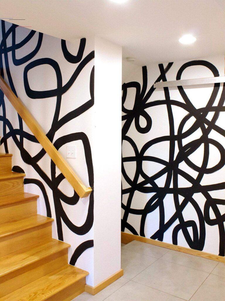 черные линии в дизайне