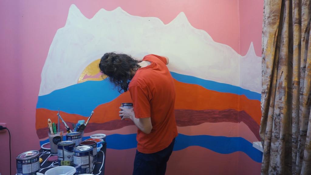 рисуем горы своими руками