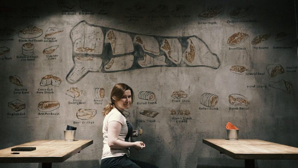 говядина в разрезе арт граффити рисунок