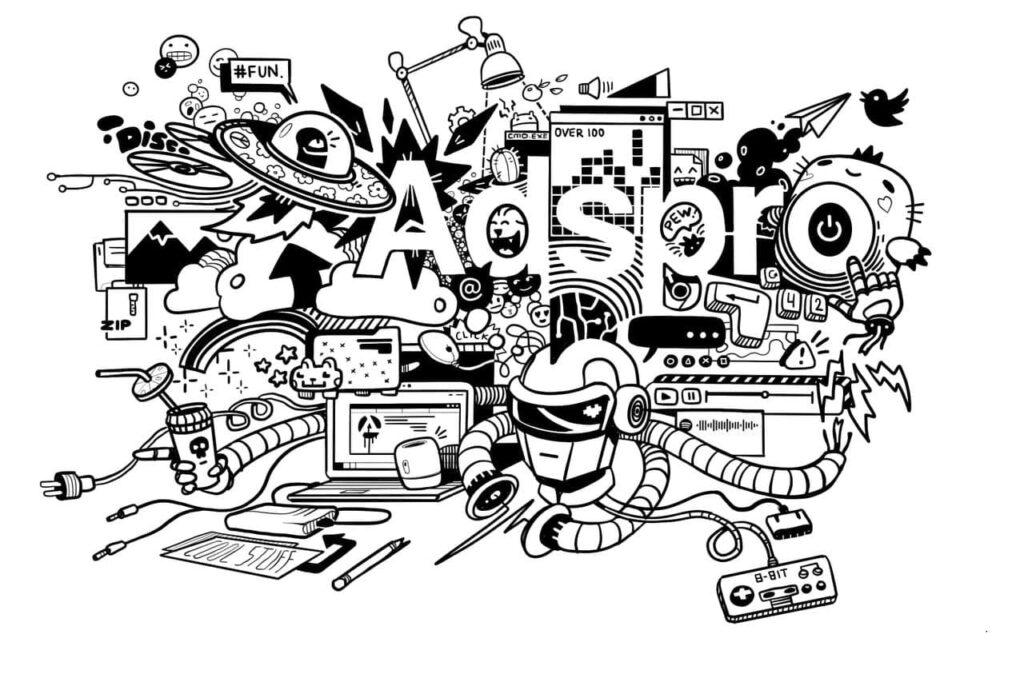 adspro рисунок компании