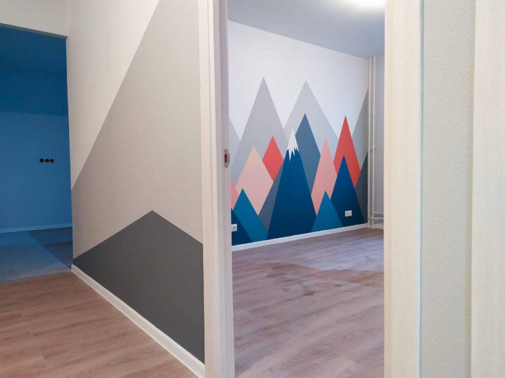 геометрия на стенах